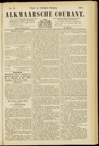 Alkmaarsche Courant 1887-05-25