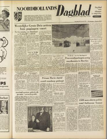 Noordhollands Dagblad : dagblad voor Alkmaar en omgeving 1954-02-20