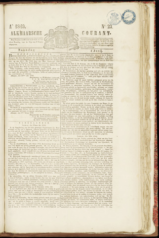 Alkmaarsche Courant 1849-06-04