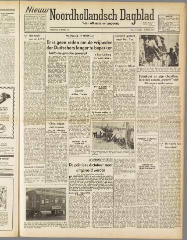 Nieuw Noordhollandsch Dagblad : voor Alkmaar en omgeving 1947-03-15