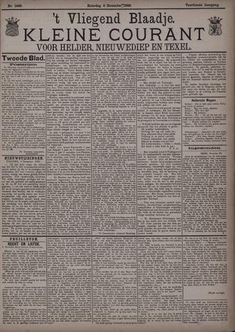Vliegend blaadje : nieuws- en advertentiebode voor Den Helder 1886-12-04