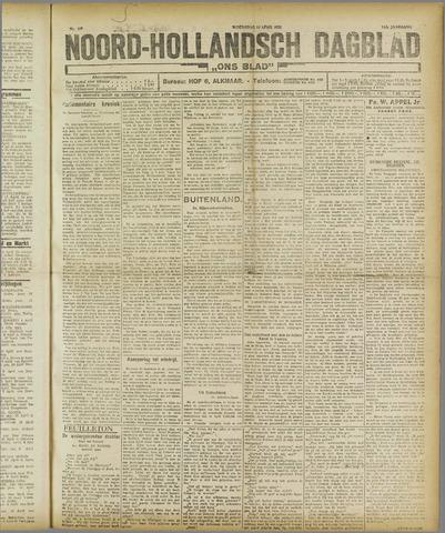 Ons Blad : katholiek nieuwsblad voor N-H 1921-04-13