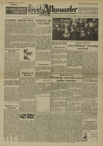 De Vrije Alkmaarder 1949-12-28