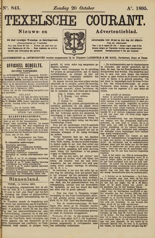 Texelsche Courant 1895-10-20