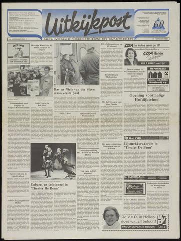 Uitkijkpost : nieuwsblad voor Heiloo e.o. 1994-02-16