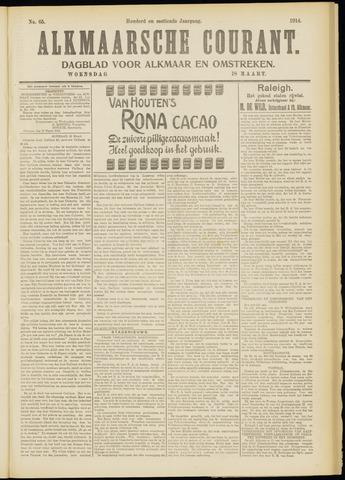 Alkmaarsche Courant 1914-03-18