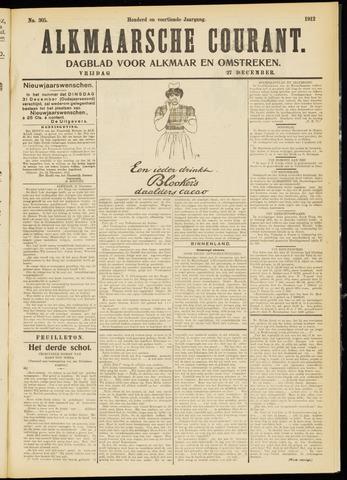 Alkmaarsche Courant 1912-12-27