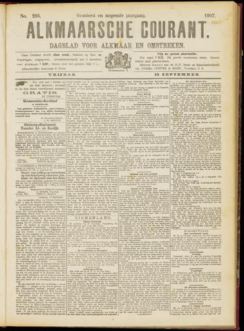 Alkmaarsche Courant 1907-09-13