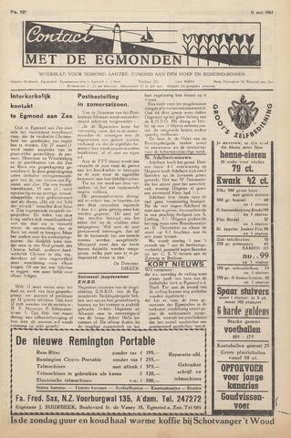 Contact met de Egmonden 1962-05-31