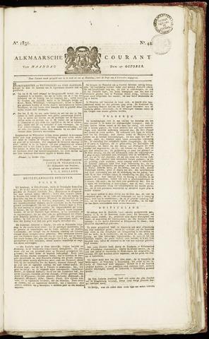 Alkmaarsche Courant 1831-10-17