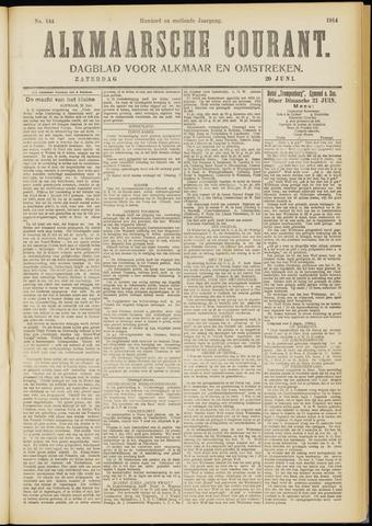 Alkmaarsche Courant 1914-06-20