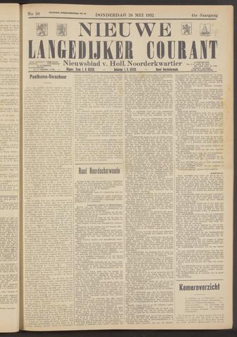 Nieuwe Langedijker Courant 1932-05-26