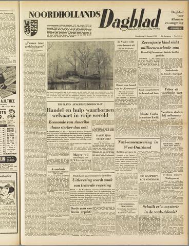 Noordhollands Dagblad : dagblad voor Alkmaar en omgeving 1953-01-15