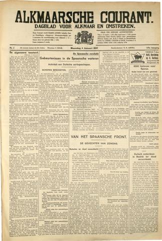 Alkmaarsche Courant 1937-01-04