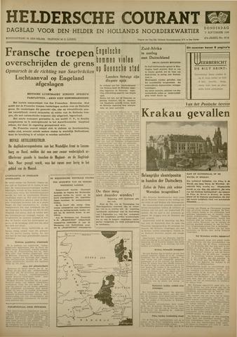 Heldersche Courant 1939-09-07