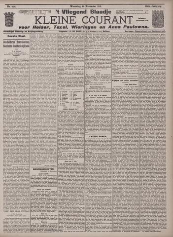 Vliegend blaadje : nieuws- en advertentiebode voor Den Helder 1912-11-20