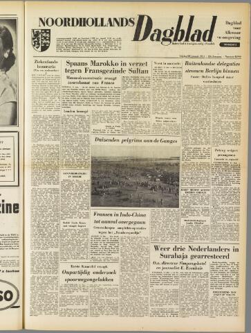 Noordhollands Dagblad : dagblad voor Alkmaar en omgeving 1954-01-22