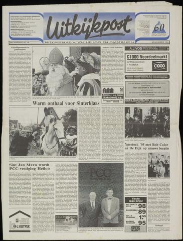 Uitkijkpost : nieuwsblad voor Heiloo e.o. 1994-11-30