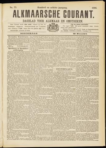 Alkmaarsche Courant 1906-03-29