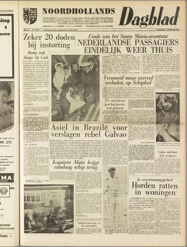 Noordhollands Dagblad : dagblad voor Alkmaar en omgeving 1961-02-04