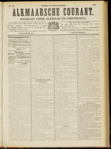 Alkmaarsche Courant 1911-09-07