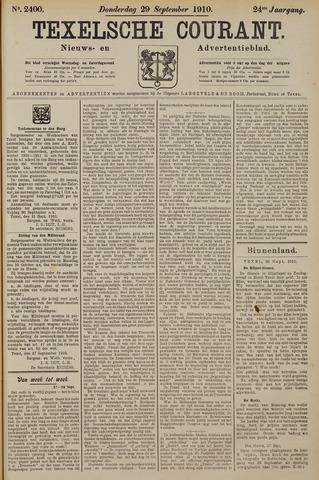 Texelsche Courant 1910-09-29