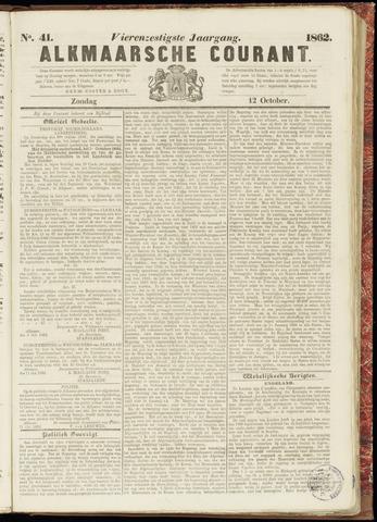 Alkmaarsche Courant 1862-10-12