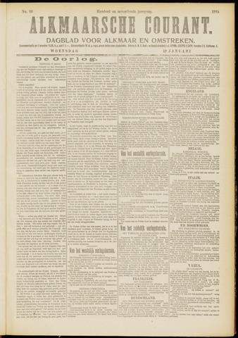 Alkmaarsche Courant 1915-01-13