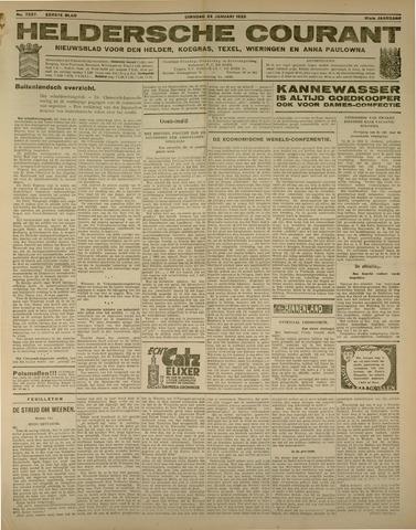 Heldersche Courant 1933-01-24