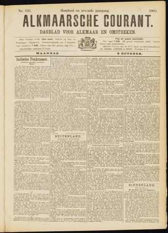 Alkmaarsche Courant 1905-10-09