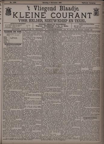 Vliegend blaadje : nieuws- en advertentiebode voor Den Helder 1887-11-05