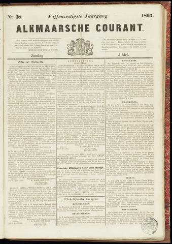Alkmaarsche Courant 1863-05-03
