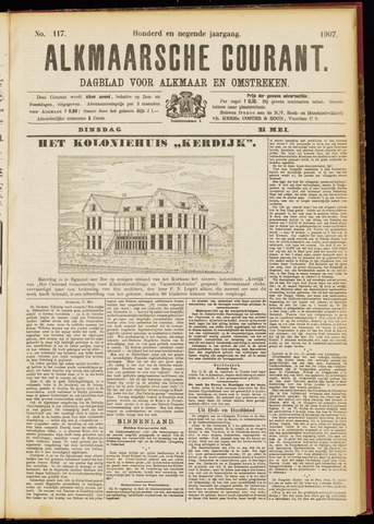 Alkmaarsche Courant 1907-05-21