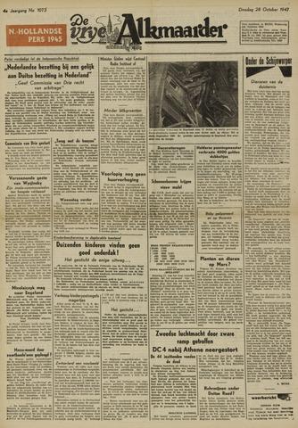 De Vrije Alkmaarder 1947-10-28