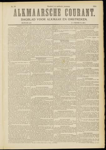 Alkmaarsche Courant 1914-02-03