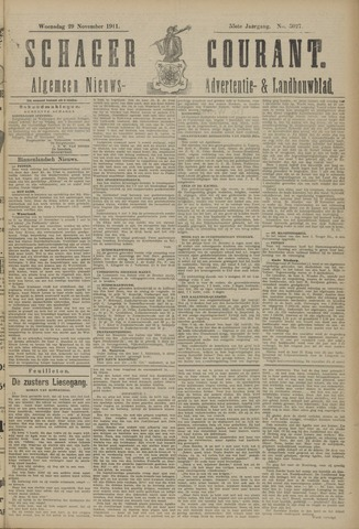 Schager Courant 1911-11-29