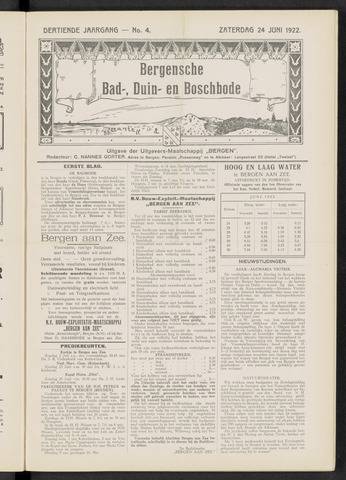 Bergensche bad-, duin- en boschbode 1922-06-24