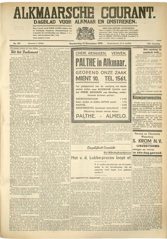 Alkmaarsche Courant 1933-12-14