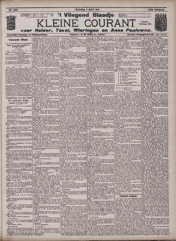 Vliegend blaadje : nieuws- en advertentiebode voor Den Helder 1913-04-05