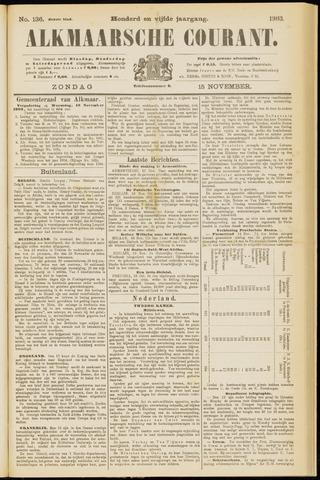 Alkmaarsche Courant 1903-11-15