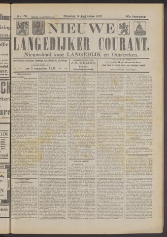 Nieuwe Langedijker Courant 1921-08-09