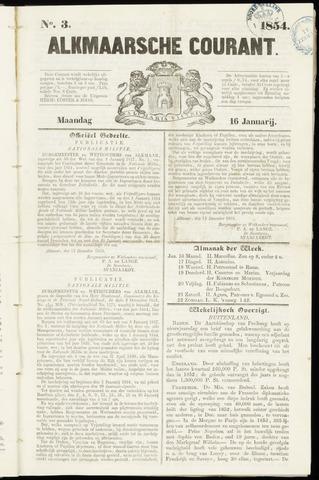Alkmaarsche Courant 1854-01-16