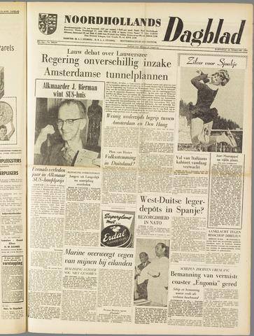 Noordhollands Dagblad : dagblad voor Alkmaar en omgeving 1960-02-24