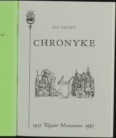 Een Nieuwe Chronyke van het Schermereiland 1987-06-01