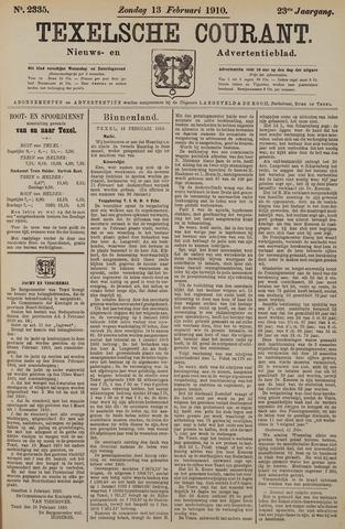 Texelsche Courant 1910-02-13