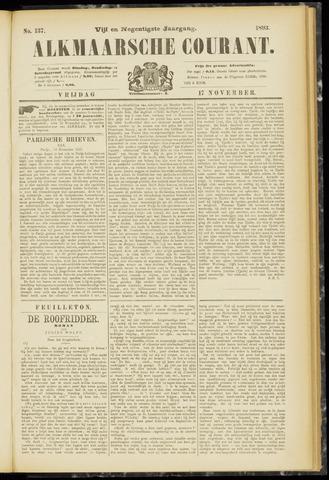Alkmaarsche Courant 1893-11-17