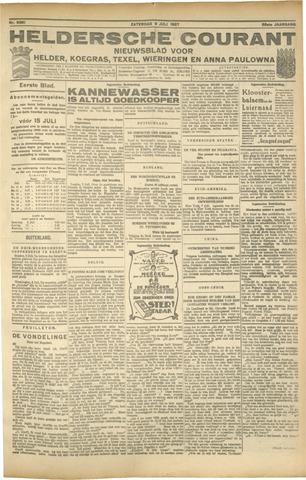 Heldersche Courant 1927-07-09