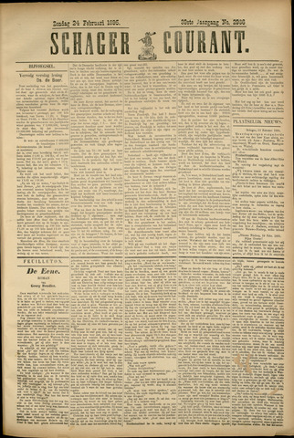 Schager Courant 1895-02-28
