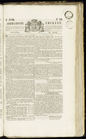 Alkmaarsche Courant 1840-06-15