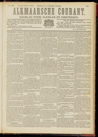 Alkmaarsche Courant 1919-08-18